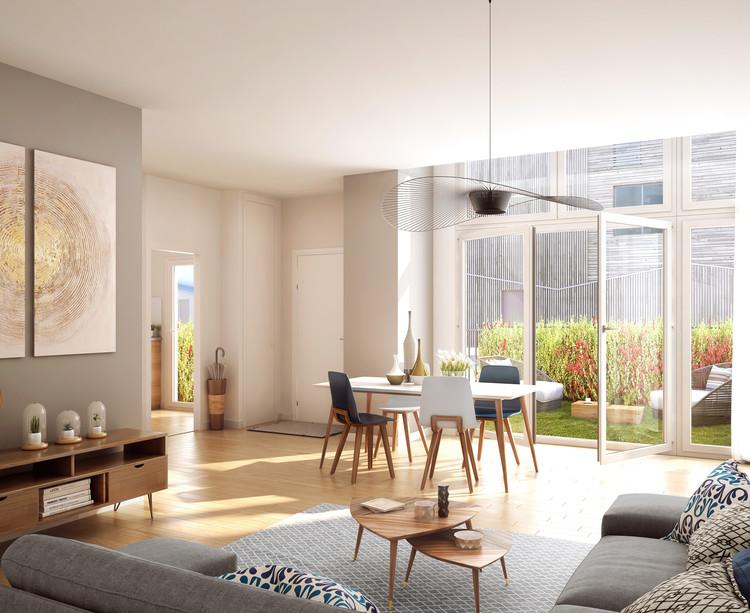 Appartement du programme immobilier neuf 14 Ornano à Saint-Denis
