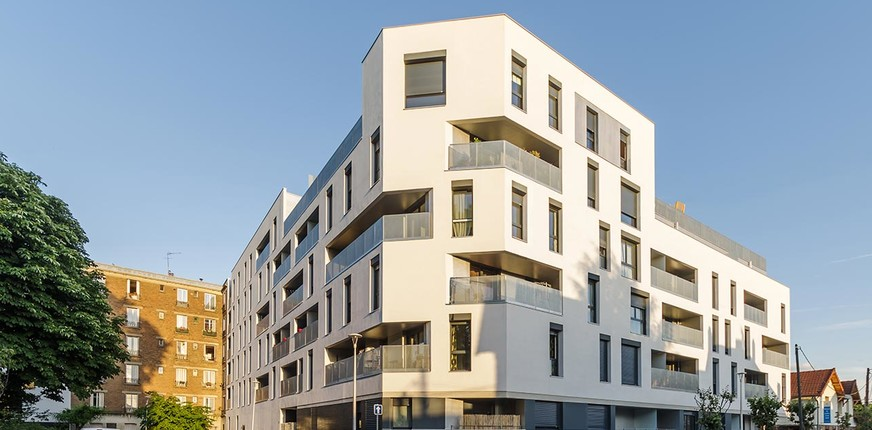 Livraison du programme immobilier neuf Mail de l'Hôtel de Ville à La Courneuve