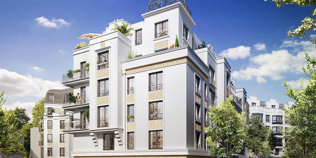 Programme immobilier neuf Canal Avenue à Clamart