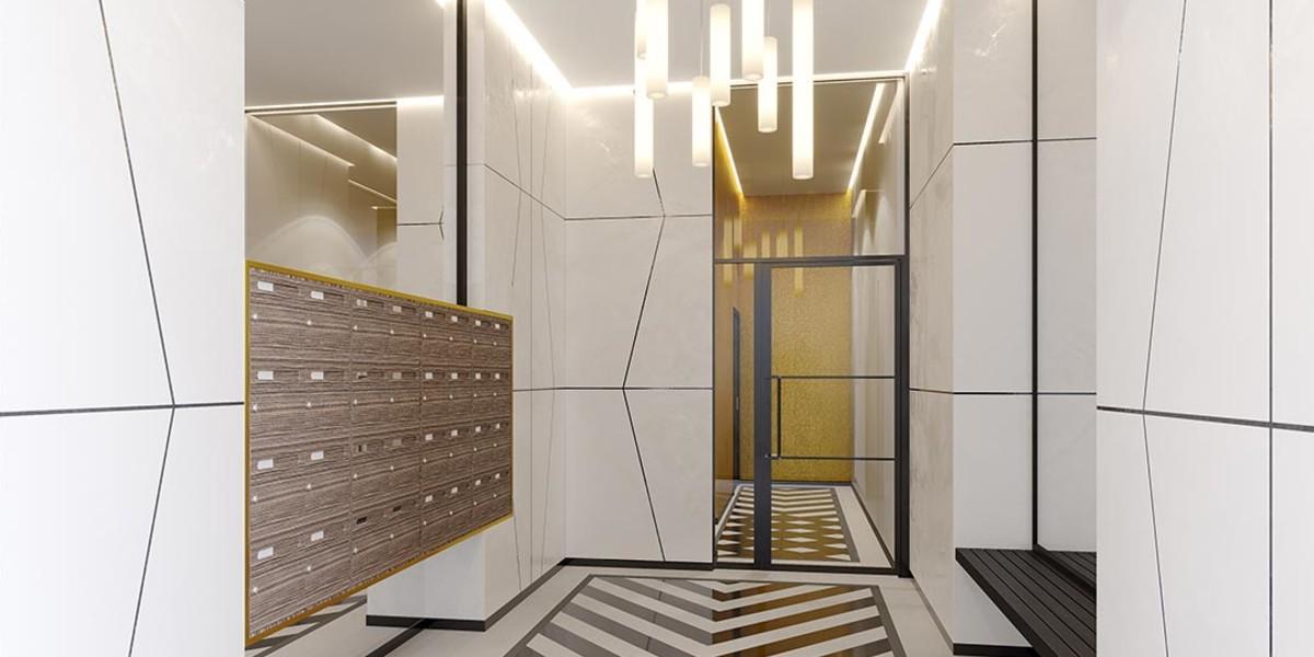 Hall d'entrée du programme immobilier neuf 14 Ornano à Saint-Denis