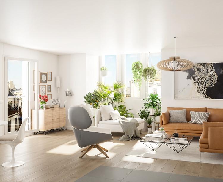 Appartement neuf de la résidence Passage Oberkampf