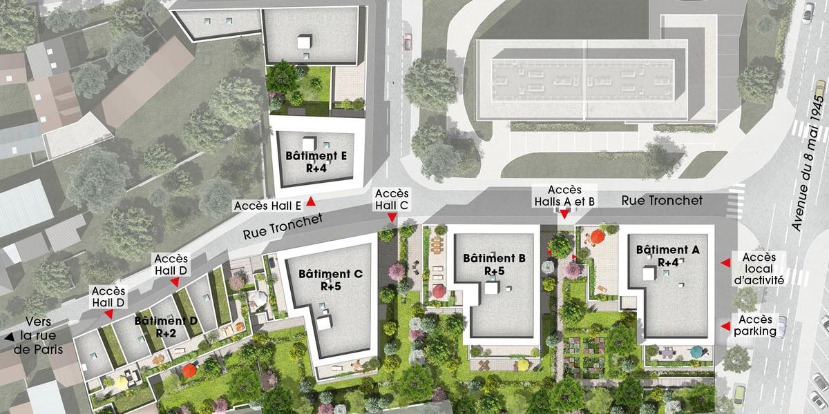 Tronchet immobilier neuf palaiseau emerige - Bureau de poste palaiseau ...
