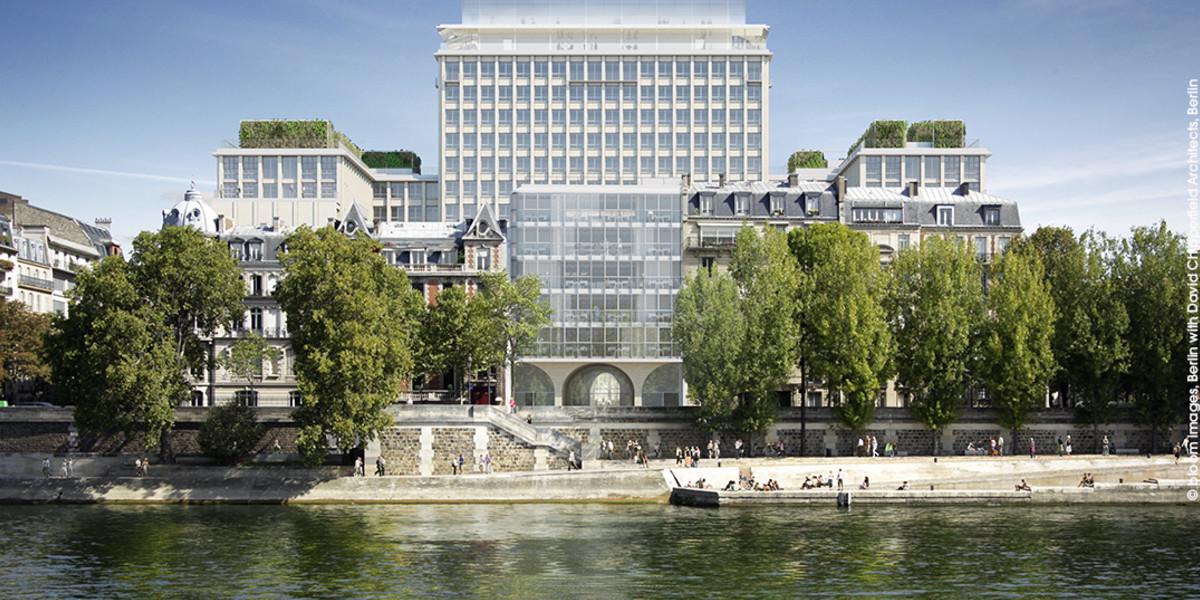 Programme immobilier Rue Agrippa d'Aubigné à Paris 4