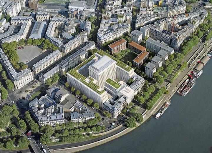 """Réinventer Paris : le programme immobilier neuf """"Rue Agrippa d'Aubigné"""" à Paris 4"""