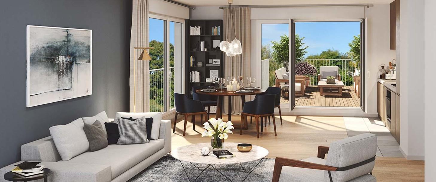 Appartement du programme immobilier Allée du Parc à Massy