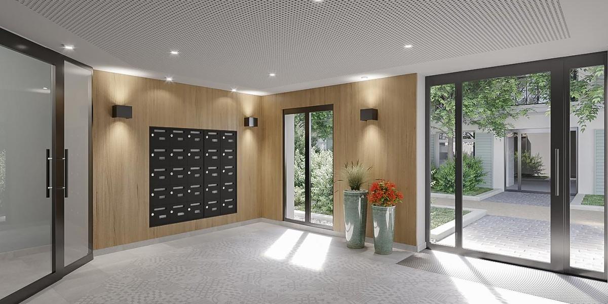 Hall d'entrée du programme immobilier neuf Avenue Lecomte à Villiers-sur-Marne