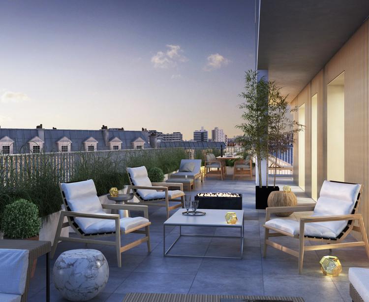 Terrasse du programme immobilier neuf 5 Rue Erard à Paris 12