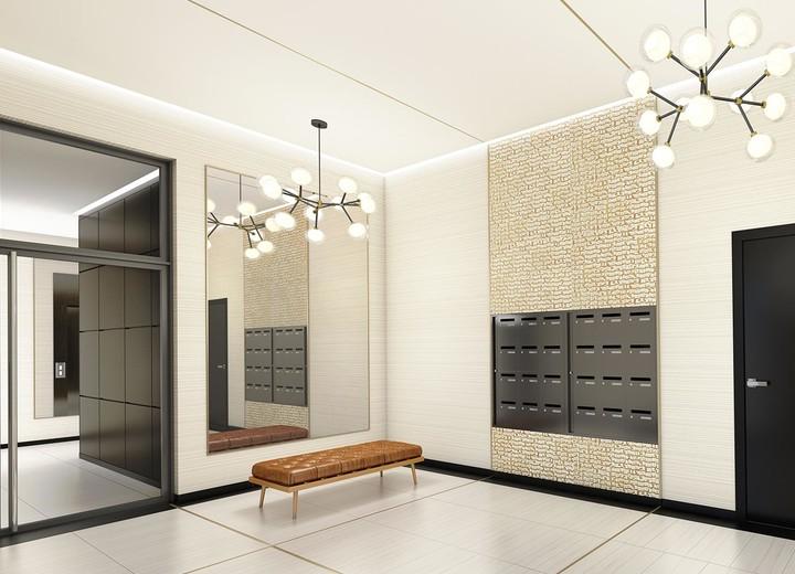 Hall d'entrée du programme immobilier neuf Rue Edouard Renard à Pantin