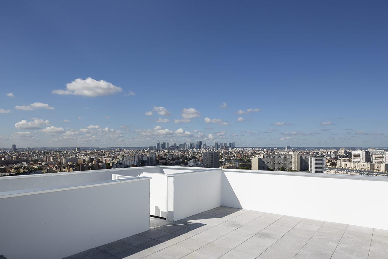 Appartement avec terrasse du programme immobilier neuf Trilogie à Asnières