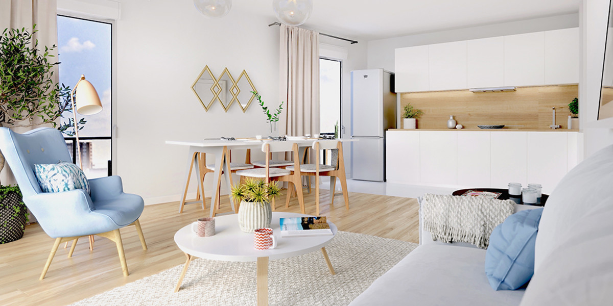 Appartement neuf du programme immobilier Trilogie à Asnières