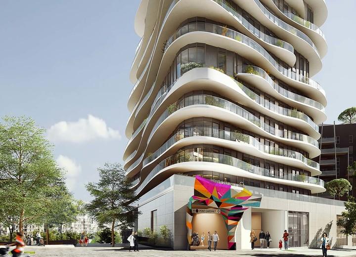 Localisation du programme immobilier neuf Unic à Paris 17
