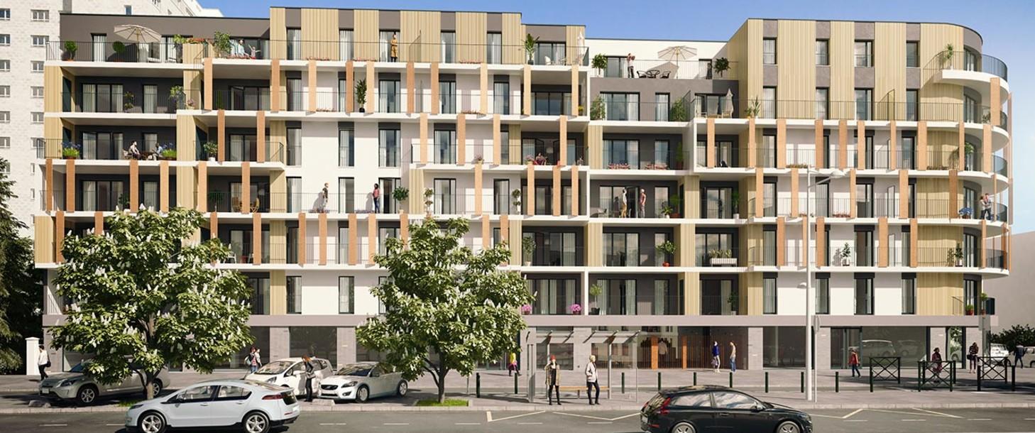 Programme immobilier neuf 1 Rue de Craïova à Nanterre