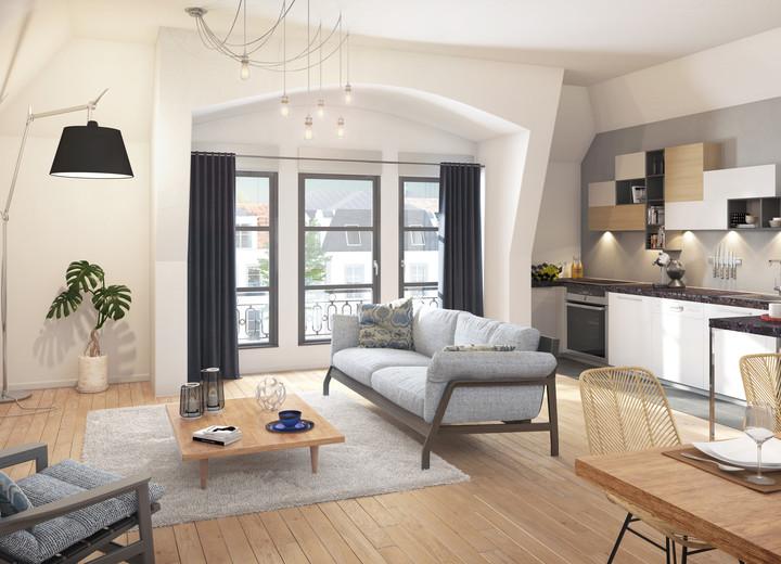 Prestations du programme immobilier neuf Allée de Meudon à Clamart