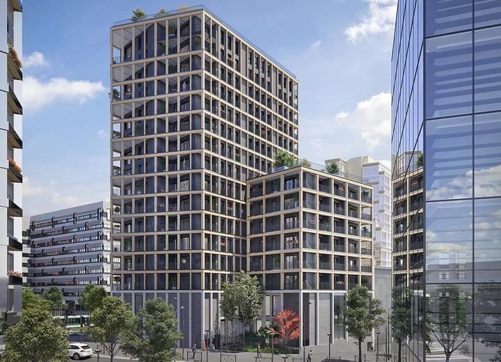 Architecture du programme immobilier neuf Le Berlier à Paris 13