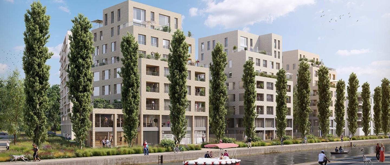 Le programme immobilier neuf Paris Canal à Bobigny