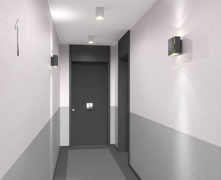 Palier d'étage du programme immobilier neuf Canal Avenue à Clamart