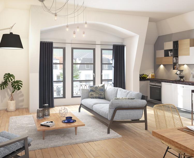 Appartement du programme immobilier neuf Allée de Meudon à Clamart