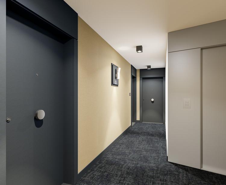 Palier d'étage du programme immobilier neuf 21 Jean Jaurès à Gentilly