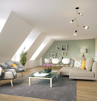 Appartement du programme immobilier neuf 3 rue Saint-Denis à Colombes