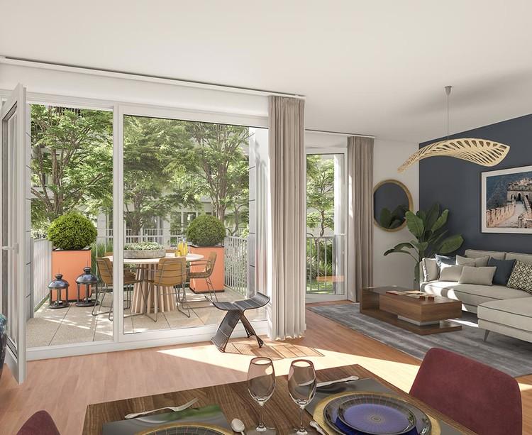 Appartement neuf du programme immobilier Paris Canal à Bobigny