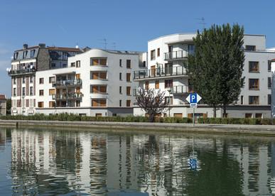 Programme immobilier neuf Les Terrasses du Canal à Saint-Denis