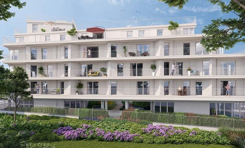 Programme immobilier neuf Rue Edouard Renard à Pantin