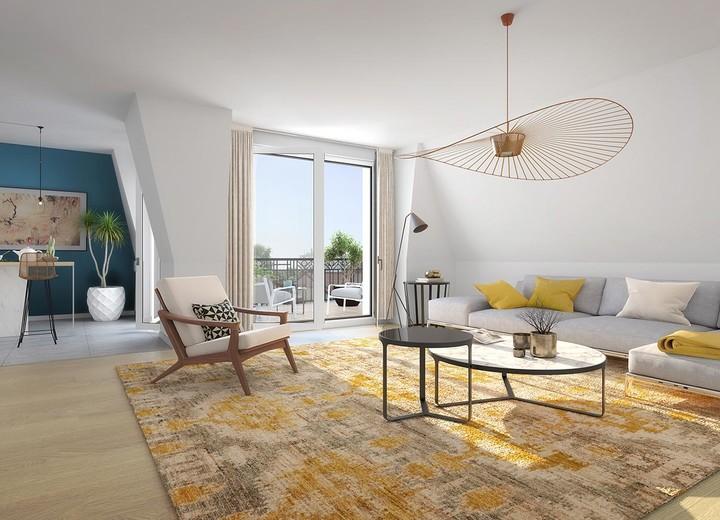 Appartements du programme immobilier neuf 31 rue Fernand Forest à Suresnes