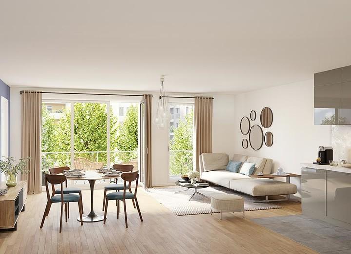 Appartement neuf du programme immobilier 6 Rue Paul Héroult à Rueil-Malmaison