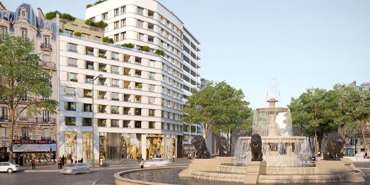 Programme immobilier neuf Place Félix Eboué à Paris 12