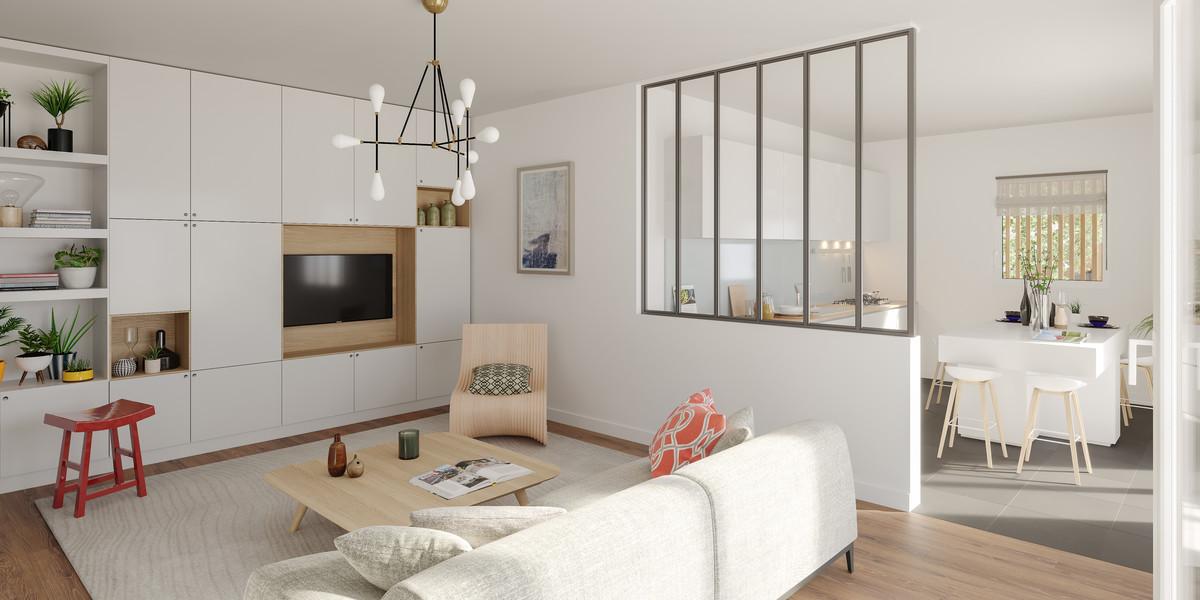 Appartement du programme immobilier 7 rue de Tolbiac à Paris 13