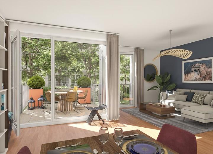 Appartement du programme immobilier Paris Canal - 165 Rue de Paris à Bobigny