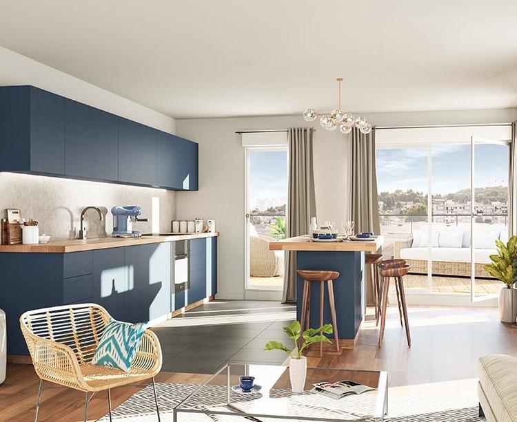 Appartement du programme immobilier neuf Carré de l'Arsenal à Rueil-Malmaison