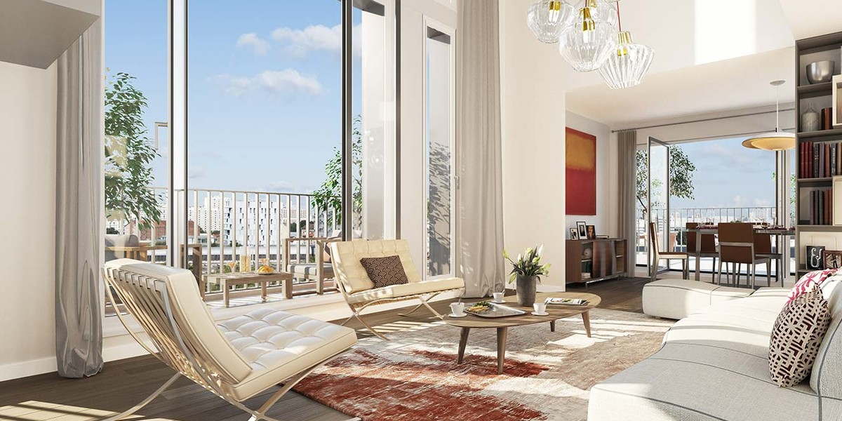 Appartement du programme immobilier neuf Rue des Bons Raisins à Rueil-Malmaison