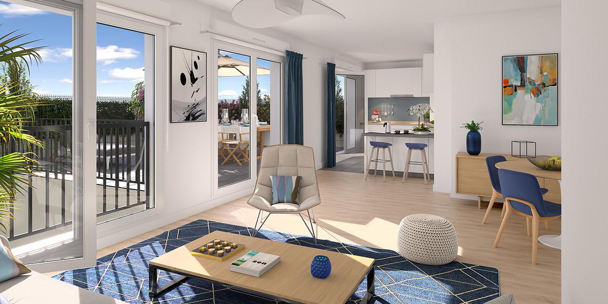 Appartement du programme immobilier neuf 4 boulevard Carnot à Alfortville
