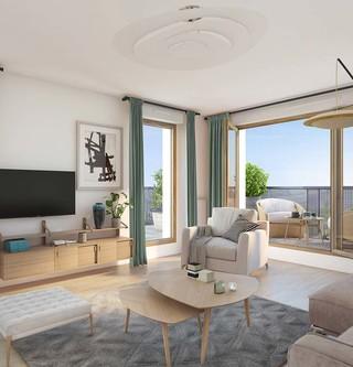 Appartement du programme immobilier Les Allées Maria Casarès à Gennevilliers