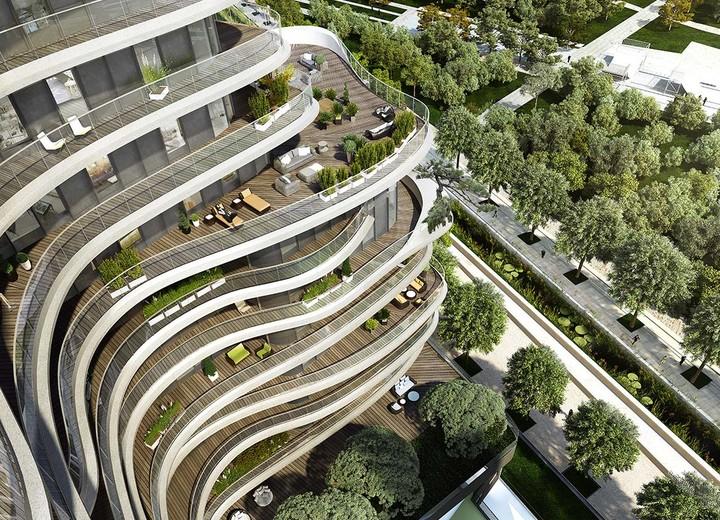 Architecture du programme immobilier neuf Unic à Paris 17
