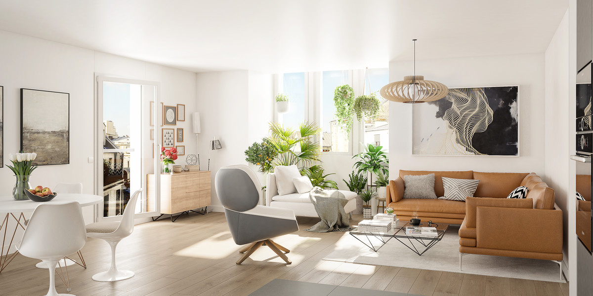 Appartement neuf du Passage Oberkampf