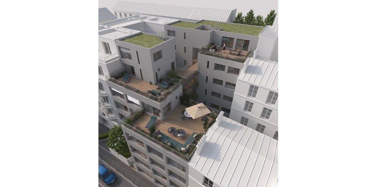 Programme immobilier neuf 12 Popincourt à Paris 11