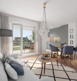 Appartement du programme immobilier neuf 31 rue Fernand Forest à Suresnes