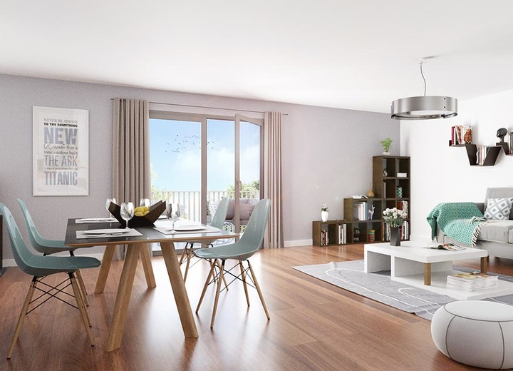 Prestations des logements neufs des Terrasses d'Aragon à Villejuif