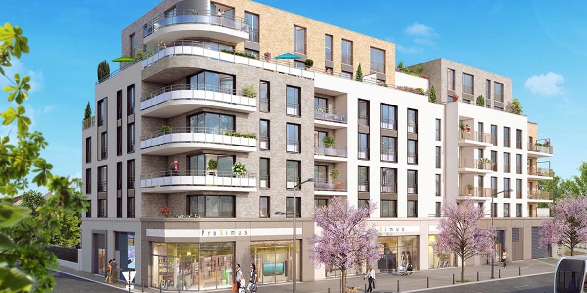 """Programme immobilier neuf """"Les Terrasses d'Aragon"""" à Villejuif"""