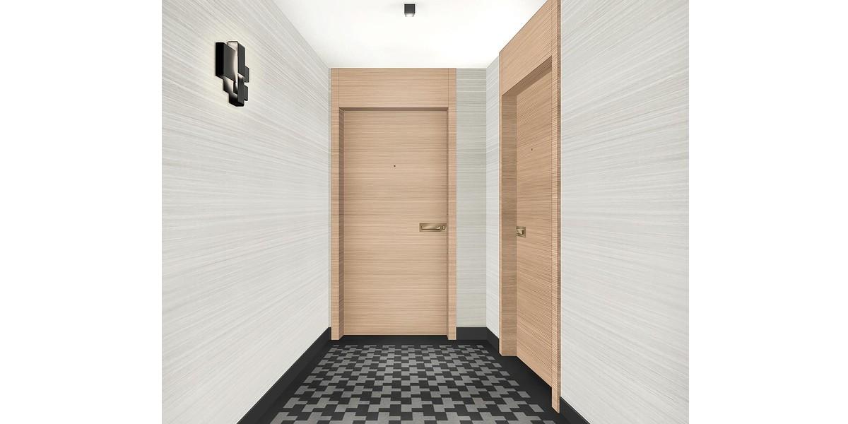 Palier d'étage du programme neuf Rue du Maréchal de Lattre de Tassigny