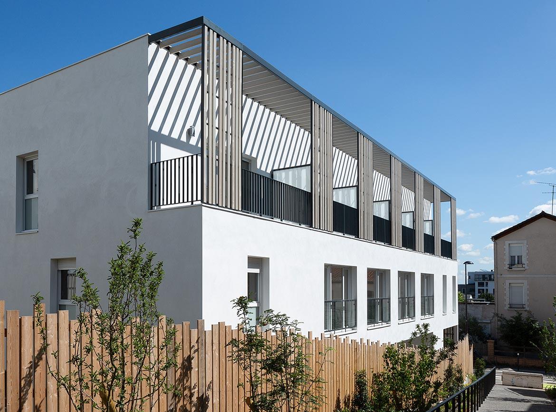 Variations à Vitry-sur-Seine : livraison de l'immeuble Quartz (maisons)