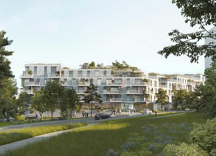 Le programme immobilier neuf Allée du Parc à Massy dans le quartier Vilgénis