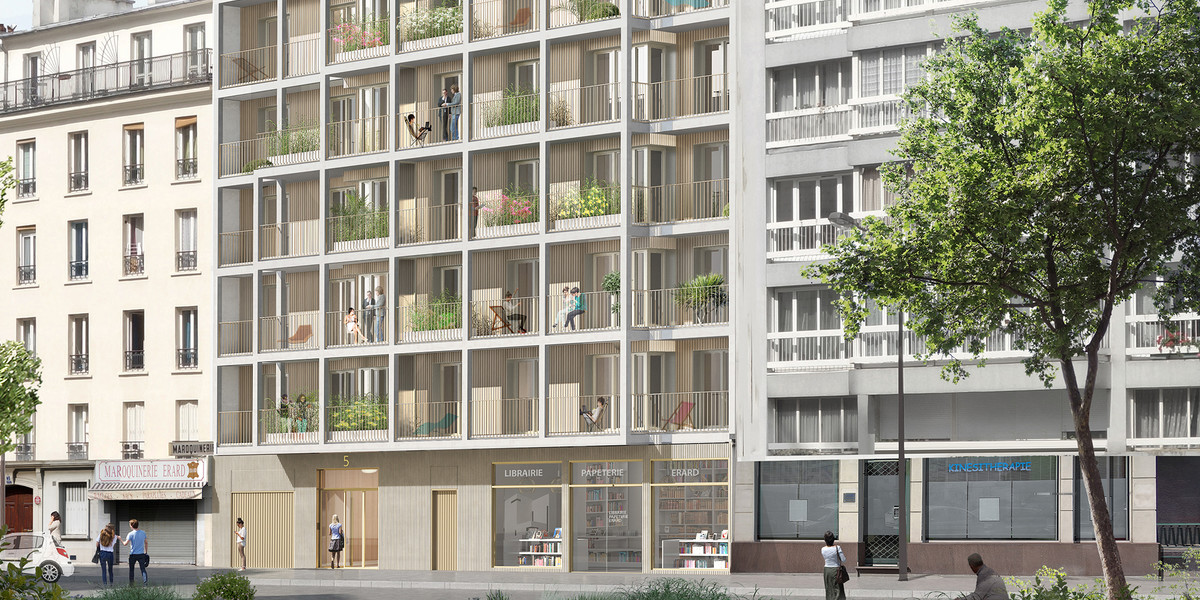 Programme immobilier neuf 5 Rue Erard à Paris 12