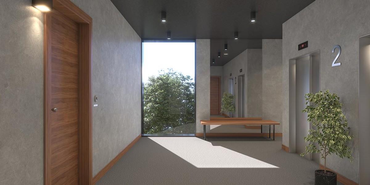 Palier d'étage du programme immobilier neuf Le Berlier à Paris 13