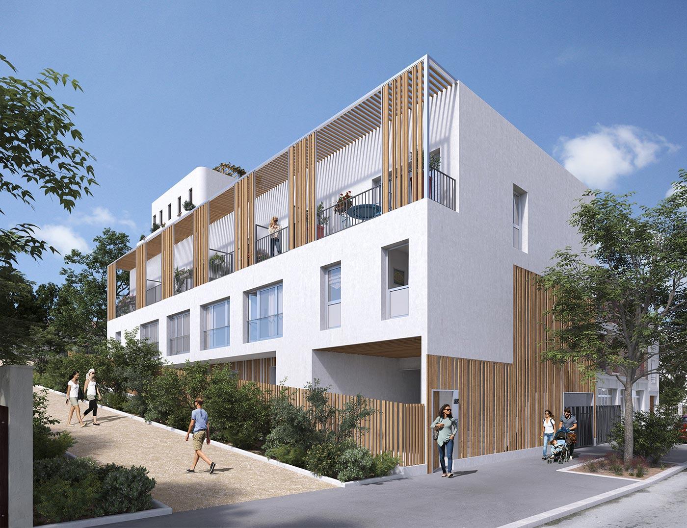 Immeuble Quartz du programme immobilier Variations à Vitry-sur-Seine