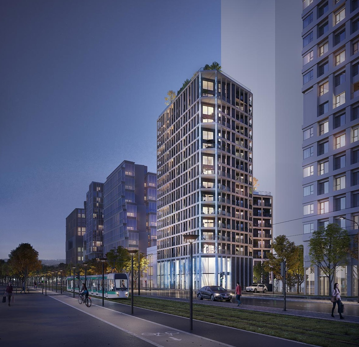 Programme immobilier neuf Le Berlier à Paris 13