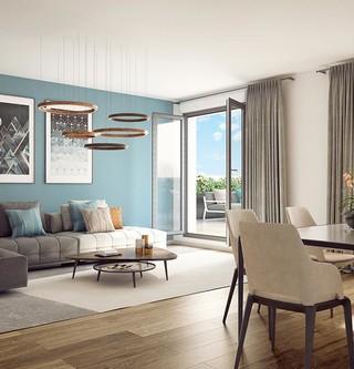 Appartement du programme immobilier neuf Rue Tronchet à Palaiseau