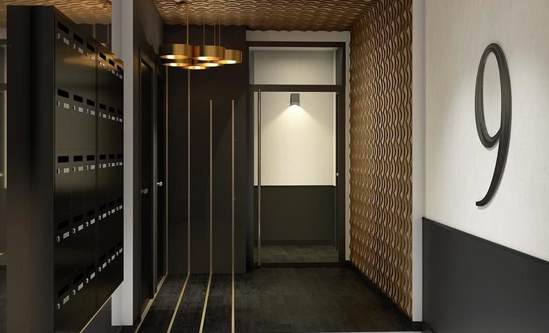 Hall d'entrée du programme immobilier neuf Rue Tronchet à Palaiseau